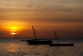 Coucher de soleil sur Zanzibar 2