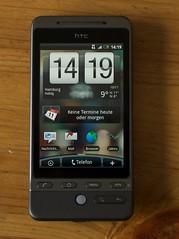 HTC Hero Homescreen