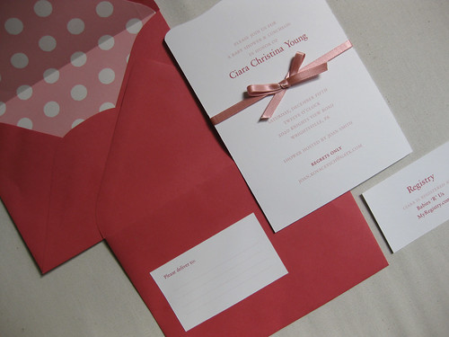 Ciara's Baby Shower Invitation(s)