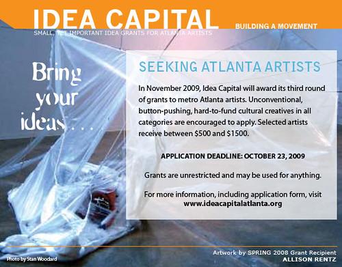 Idea Capital Call for Entries