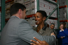 Senator Peters and Congresswomen Donna Edwards