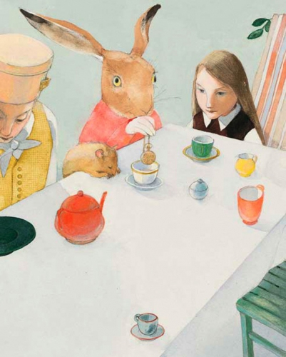 Lisbeth Zwerger - Mad Hatter's Table