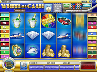 Wheel of Cash slot game online review