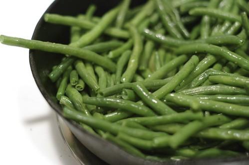 Sautéing Green Beans