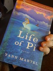 Life of Pi, novel by Yann Martell