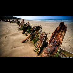Keep one eye on the horizon; there are many things out there that will cause your wreck. (J.P.Robertson) Tags: beach wet water canon wooden ship bokeh sandy sigma australia wideangle nsw wreck 1020mm hdr hdri woolgoolga 40d sipwreck alemdagqualityonlyclub