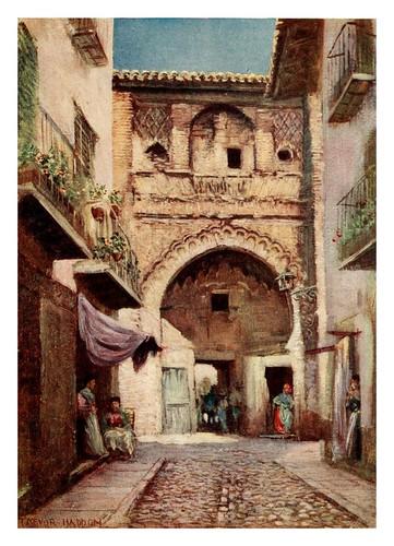 035-Granada-Casa del Carbon-Southern Spain 1908- Trevor Haddon