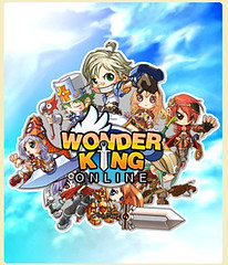 WonderKing logo with many characters