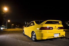 Phoenix Yellow GSR (Tucker Matthews) Tags: phoenix yellow honda fat r type acura integra fives dc2 gsr b18c1