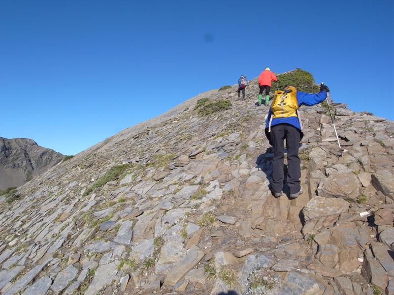 大-東峰登頂之路