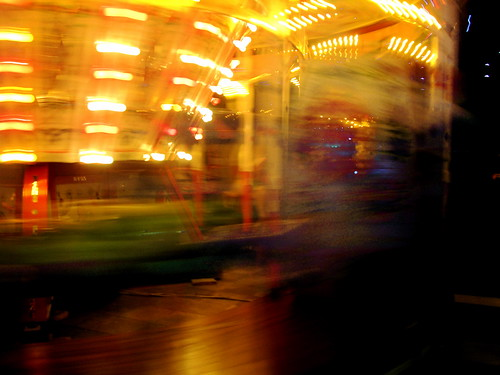 空中庭園(ドイツ X'mas マーケット) 2009.11.20