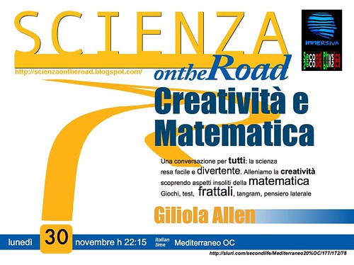 Scienza on the road_Giliola3_MEDITERRANEO OC_301109 tex4poster