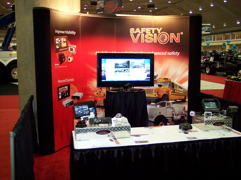 Safety Vision mobile video solutions booth at American Towman Expo 2009