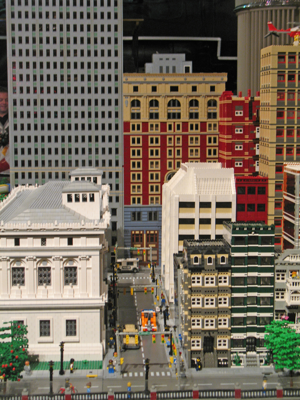 MichLTC Lego City and Train Layout at The Henry Ford Museum
