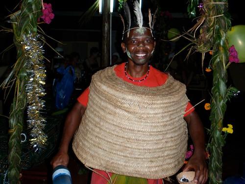 Basket weaving Tanzanian Style!