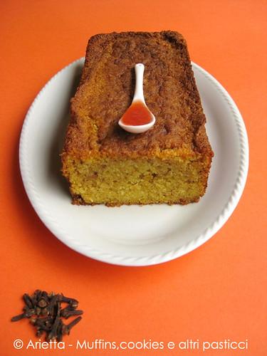 Cake di zucca e chiodi di garofano