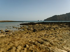 Punta Fariones (limonium64) Tags: paisajes landscapes playa arena acantilado famara islascanarias lagraciosa the4elements paisajescanarios olympussp560uz