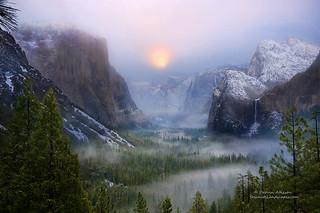 Winter Magic - Yosemite National Park, California