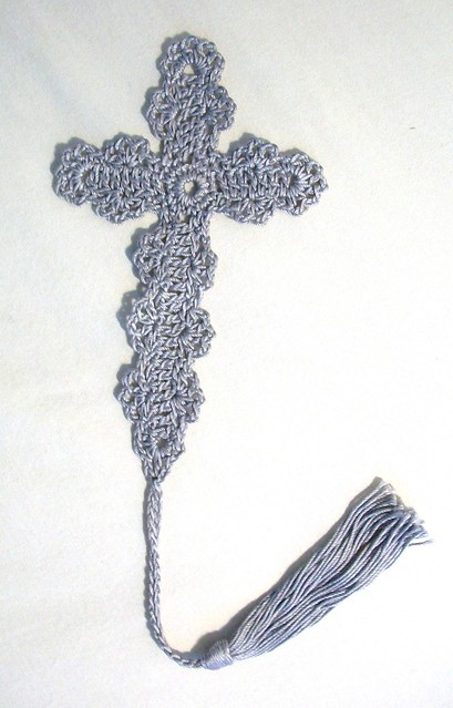 Bookmark Crochet Cross Pattern Patterns