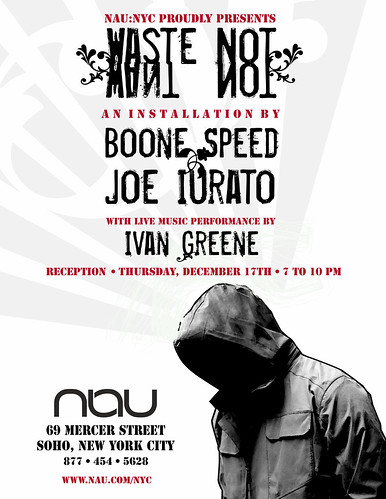 Boone Speed x Joe Iurato x Ivan Greene - NAU SOHO SHOW!