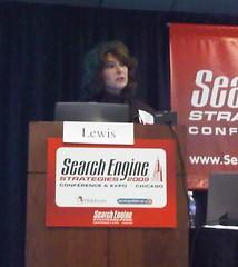Christine Churchill at SES Chicago 2009