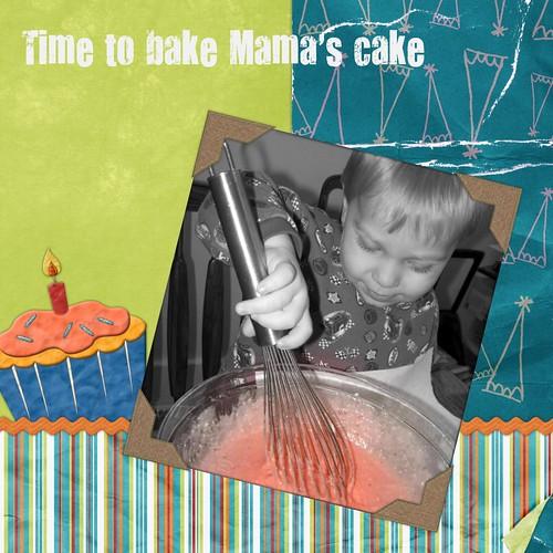 Cake baking time
