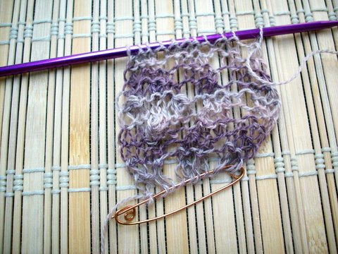Lilac Blooms scarf