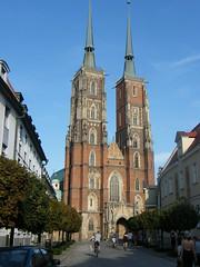 Cathedral, Wrocław (EuCAN Community Interest Company) Tags: poland 2009 eucan milicz baryczvalley