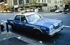 New York Police Car (grahambrown1965) Tags: new york usa newyork canonav1 car america hydrant canon fire unitedstates united police firehydrant policecar states fd av1 fdlens unitiedstatesofamerica canonfd3570mmf4