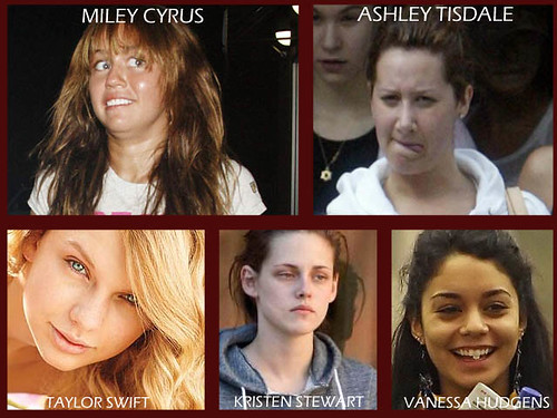 which teen looks good without makeup
