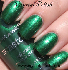 Wet N Wild SaGreena the Teenage Witch (CrystalPolish) Tags: green drugstore shimmer wetnwild sagreenatheteenagewitch