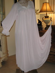 Miss Elaine Pale Pink Antron Nylon Nightgown Full Length Front Displayed (mondas66) Tags: ruffles lace lingerie boudoir romantic gown elegant gowns ornate lacy nylon nightgown sheer frilly nightgowns elegance nightdress ruffle nightwear frill ruffled nightie lacework frilled nighties misselaine antron nightdresses frilling frillings befrilled