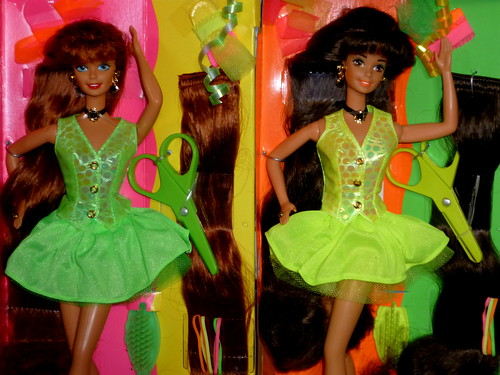 Barbie Cut And Style Box 1994 Superstar Head Mold A Photo On