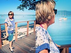 Magali (Francine de Mattos) Tags: floripa portrait sol praia azul mar nikon retrato florianpolis vero santoantniodelisboa santacatarina rayban d90 francinedemattos fotografeumaideia