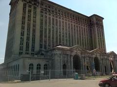 IMG_0677 (mcsdetroitfriend) Tags: train michigan detroit depot renovation michigancentralstation iphone4