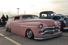 Mooneyes X-Mas Party 2016 (USautos98) Tags: 1949 plymouth wagon hotrod streetrod kustom rockabilly