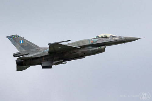 F-16C 504 Hellenic Air Force Zeus Solo Display