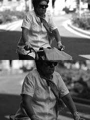 [La Mia Città][Pedala] (Urca) Tags: milano italia 2017 bicicletta pedalare ciclista ritrattostradale portrait dittico bike bicycle nikondigitale scéta biancoenero blackandwhite bn bw 941
