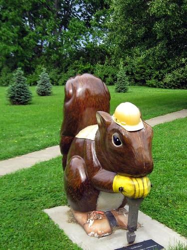 Construction Squirrel