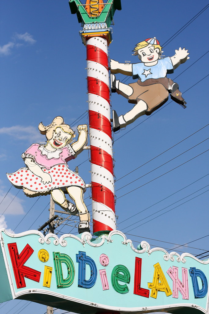 The Kiddieland Sign
