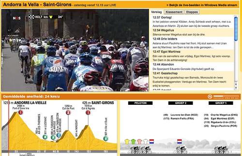 NOS | Tour de France 2009 | Live