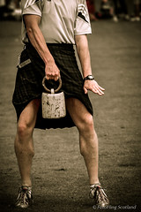 Strength (FotoFling Scotland) Tags: pull scotland kilt lift legs fife muscle watch scottish tshirt competition trainers thighs scot heavy weight throw thornton highlandgames kilted scotsman upkilt tartankilt traditionalkilt