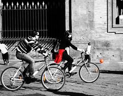 In giro per la città..pedalando pedalando..