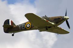 LF363 - Battle Of Britain Memorial Flight - Royal Air Force - Hawker Hurricane Mk2C - 090704 - Waddington - Steven Gray - IMG_8840