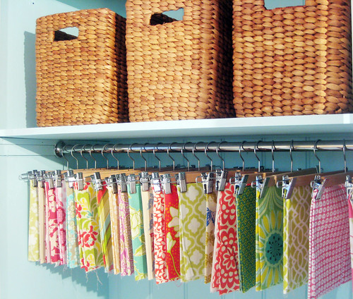 How to Declutter your fabric stash from Ish and Chi