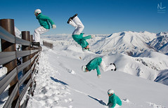 One way to make use of 40cm of fresh powder :) (Nick   Lawry) Tags: new christchurch ski alps field mt canterbury southern zealand hutt methven