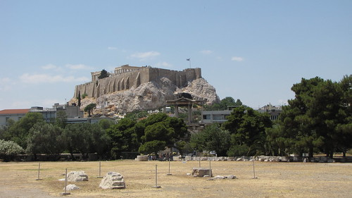 The Acropolis as seen from the Temple of Zeus