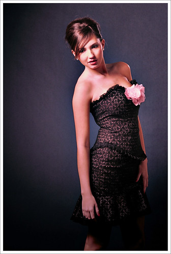 Dark Background Studio Look-Book Fashion Photography
