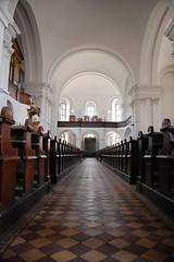 Debrecen, Protestant Great Church Indoor View (Istvan) Tags: vanishingpoint hungary availablelight indoor debrecen gamewinner thechallengefactory reformtusnagytemplom
