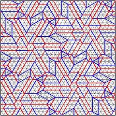 "Joel Cooper's ""Whirls"": CP (Daniel Kwan) Tags: design origami pattern joel daniel twist cooper hexagon cp crease tessellation kwan whirl danielkwan"